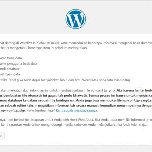 Tampilan-Peringatan-Persiapan-Instalasi-WordPress