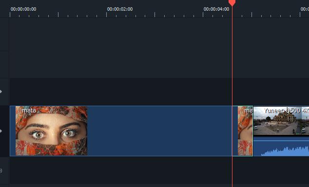 Split Gambar di 10 frame terakhir