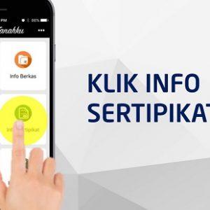 cek sertifikat tanah online