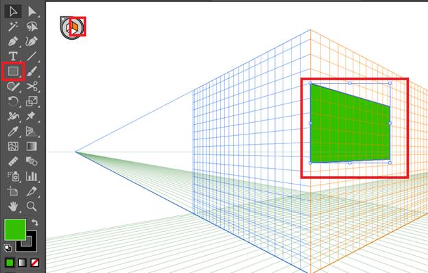 menggunakan Perspektif Grid Tool Di Adobe Illustrator CC